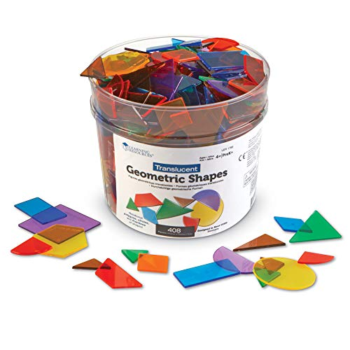 Learning Resources Transparente geometrische Formen,