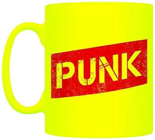 Grindstore Tasse Néon Punk Jaune