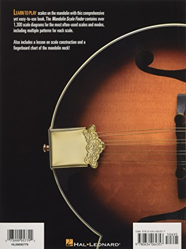 Mandolin Scale Finder: Easy-To-Use Guide to Over 1,300 Mandolin Scales