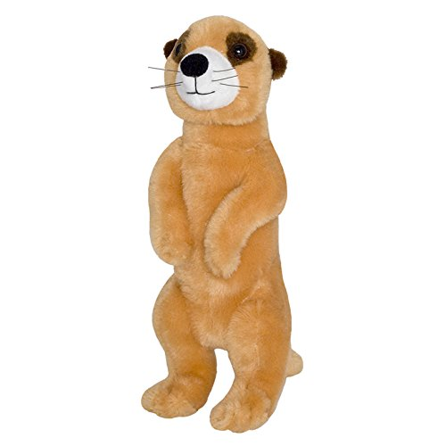 All About Nature Wild Planet Peluche Suricata 29cm Hecho a Mano. Peluche Realista