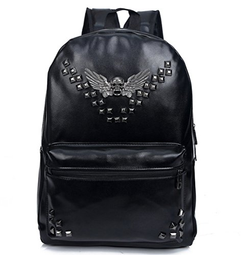 bromeo-mochila-travel-school-super-cool-leather-skull-angel-wings-remaches-soft-pu-hombro-informal-b
