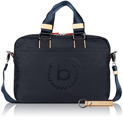 bugatti Ladies Lido - Business-Tasche mit RFID-Fach für Damen, dunkelblau