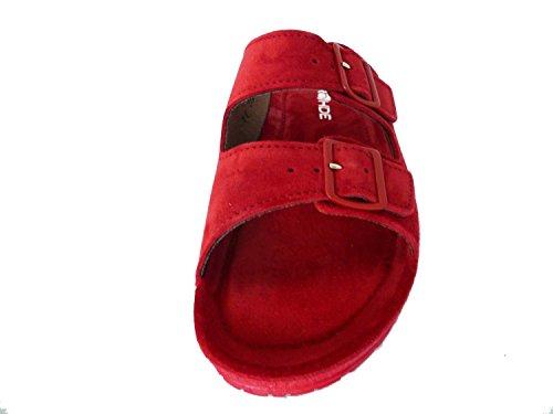 Rohde Damen 1420 Sandalen Rot
