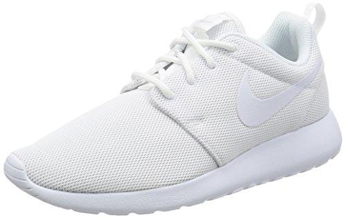 Nike Wmns Roshe One, Scarpe da Corsa Donna Bianco (White/white-pure Gris Platinum)