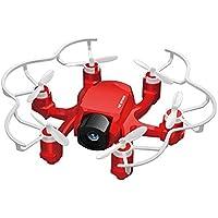 GoolRC FQ777 126C 2.4GHz 4CH girobussola 6-Axis 2MP fotocamera Spider Drone RC Hexacopter RTF con CF modalità 3D-flip un tasto funzione di ritorno - Asse Pilota