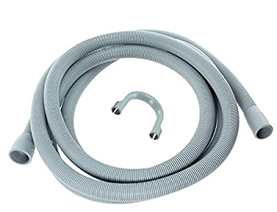 Extra Long 3.5m Length Universal Drain Hose For Washing Machine, Dishwasher & Other Applications, 2 Outlets 22mm & 29mm Bore - Please Check Pump Outlet Size. [Energy Class A+++]