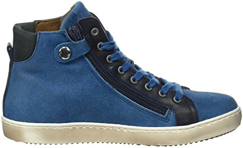 Bisgaard Shoe with lace 31814216, Unisex-Kinder Hohe Sneaker Blau (605-1 Sea)