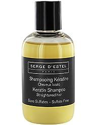 Shampooing sans sulfate cheveux lissés Kératine- Proteine de soie Lissage brésilien 250 ml