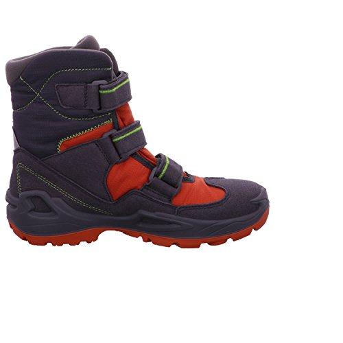 Lowa Unisex-Kinder Milo Gtx Hi Trekking-& Wanderstiefel Anthrazit/Orange