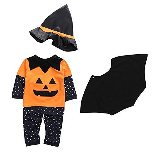 Bebé Invierno Cosplay murciélago Calabaza Halloween