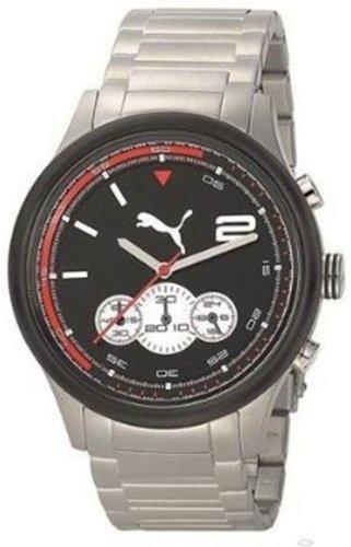 PUMA TIME PU102741003 - Orologio da polso da uomo, cinturino in acciaio...