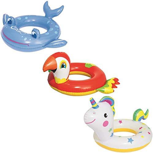 Bestway Schwimmring Happy Animal 3-6 Jahre, sortiert… | 06942138952384