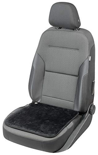 Walser 16648 Sitzheizung schwarz, beheizbare Sitzauflage, Heizkissen mit USB Stecker