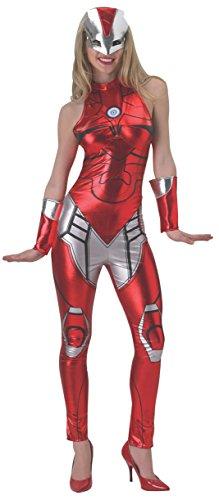 Rubie 's Damen Marvel Iron Man Rescue Overall Kostüm, Klein, Brust 91,4–96,5cm Taille - Kostüm Ironman Frauen