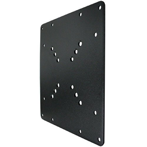 200-x-200-vesa-black-mount-adaptor-plate-by-electrosmartr-convert-tv-wall-bracket-50-75-100-mm