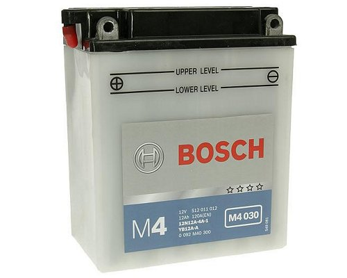 Batterie BOSCH 12N12A-4A-1 / YB12A-A - ATU MT 175 H Bj. 2004 [ inkl.7.50 EUR Batteriepfand ]