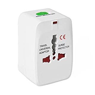 uooom Universal Travel Power Adapter Stecker Konverter Steckdosen Wand Laden Plug für US/UK/EU/AU