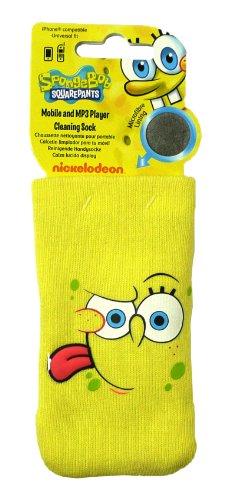 Unbekannt Emartbuy® Spongebob Square Handy Smart Phone Reinigung Socke Case Tasche Hülle Für Blackberry 8100/8110/8120/8130 Perle 8130 Smartphone