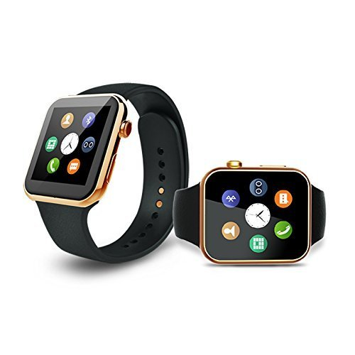 Samsung Galaxy Light GT350 COMPATIBLE Bluetooth Smartwatch with SIM Card Support | Android 5.1 OS | Facebook | Whatsapp | Activity Tracker | Fitness Band | Music | Micro SD card Support COMPATIBLE with ZTE Sonata BY MOBIMINT  available at amazon for Rs.3799