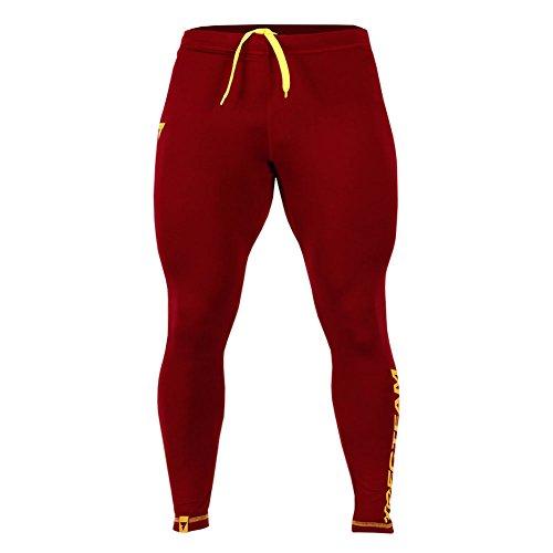 4c11492f8d0e3 Vitamin Shop Online - Pantalón Deportivo - para Hombre Rojo Rojo (Maroon) S