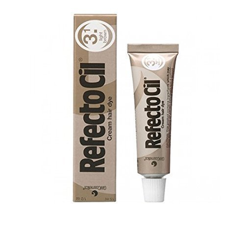 REFECTOCIL Cream Hair Tint Light Brown .5 oz by RefectoCil