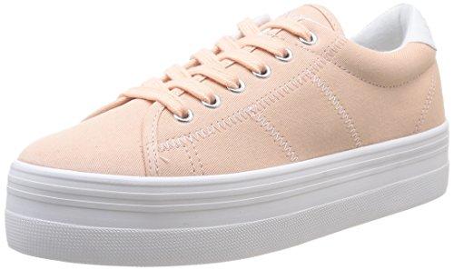 No Name  Plato,  Sneaker donna Bianco Blanc (Dragée/Fox/White) 39