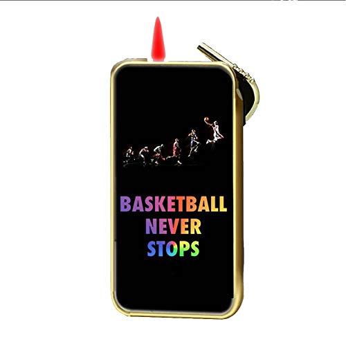 Babu Building Hergestellt Aus Metall Mit Basketball Never Stops Verwenden F¨¹r Gas Lighter F¨¹r Kind D¨¹nn (Masquerade Mask-stick)