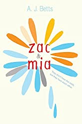 Zac and Mia by A. J. Betts (2014-09-02)