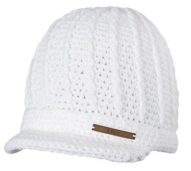 Damenmütze /Strickmütze mit Schild Liv Beanie