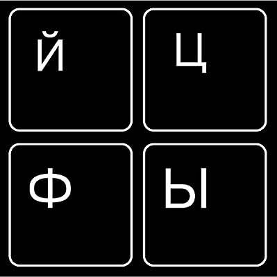 MiNGFi keyboard stickers