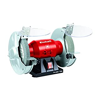 Einhell TH-BG 150 – Esmerilladora disco 150 mm, 150 W, velocidad 2950 rpm, 230 V / 50 Hz. (ref. 4412570)
