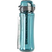 pH REVIVE - borraccia con filtro ionizzatore acqua alcalina - custodia - 750ml - verde acqua