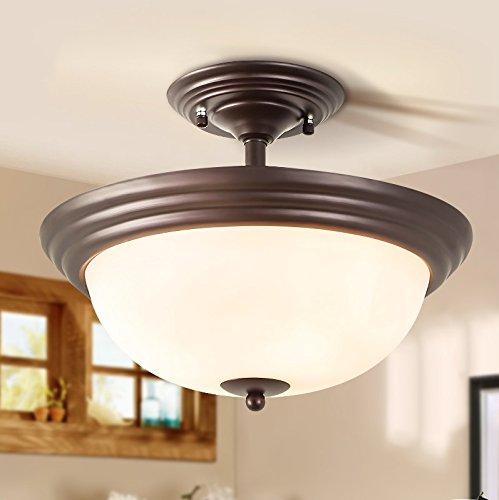 semi-luce-di-soffitto-ventilato-corridoio-camera-semplice-round-luce-di-soffitto