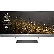 """HP Envy 34 - Monitor de 34"""" (Pantalla Curva, LED, 3440 x 1440 con tecnología QHD, HDMI, DisplayPort, USB, AMD FreeSync) Color Gris"""