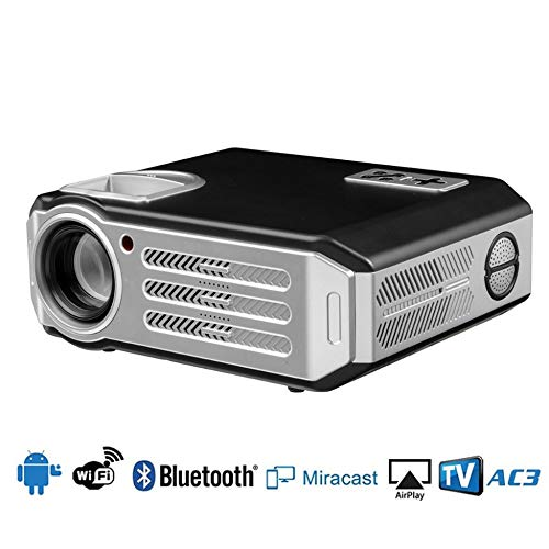 KAIDILA Projektor, RD817 LED Android Projektor-3500 Lumen Smart Wifi Projektor Video HDMI USB Full HD 1080p Projetor TV Home theat ER Beamer