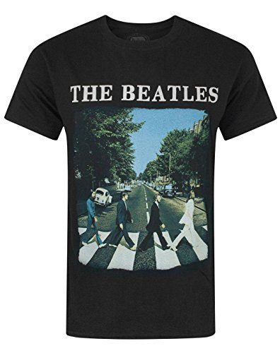 The Beatles Abbey Road Men's T-Shirt (L) (T-shirt Beatles-schwarz)