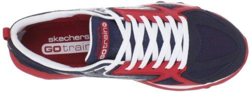 Skechers GO Train 53503 Herren Sportschuhe - Fitness Blau (Nvrd)