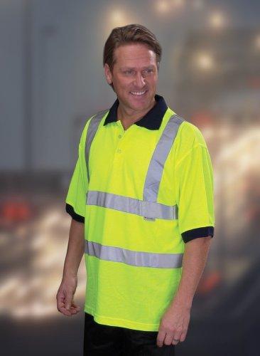 Hi-Vis Sicherheits-Poloshirt Hi-Vis Yellow