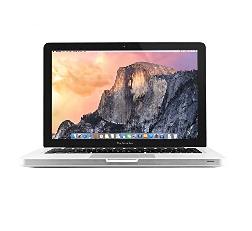 "Apple MacBook Pro 13"" MD313LL/A / Intel Core i5 2.4 GHz / RAM 8 GB / 500 GB HDD / Tastiera qwerty UK (Reacondicionado Certificado)"