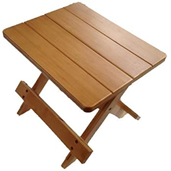 Wooden Folding Stool Flower Stand Amazon Co Uk Kitchen
