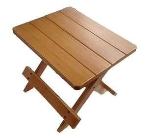 gmmh tabouret pliable en bois pour plantes cuisine maison. Black Bedroom Furniture Sets. Home Design Ideas
