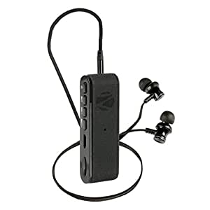Zebronics Faith Portable Bluetooth Headset with Mic (Black)