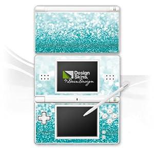 DeinDesign Skin kompatibel mit Nintendo DS Lite Folie Sticker Glitzer Look Staub Thermomixmotive
