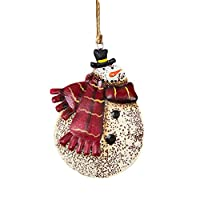 LEEDY Christmas Wrought Iron Pendant Gifts Pendant Tree Ornament Party Home Hanging Decor, Xmas Decor Baubles Pendant Ornament Decorations Accessories