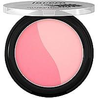 lavera So Fresh Mineral Rouge Powder -Columbine Pink 07- Colorete Confiere frescor y resalta los pómulos ∙ Cosmética natural Bio Maquillaje Organico 100% Certificado (4.5 gr)