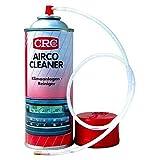 CRC–Spray, die entfernt und beugt Gerüche durch die Luftverschmutzung in Klimaanlage. Hinterlässt einen angenehmen Duft in das Fahrzeug der schnellste und einfachste Form. Airco Cleaner 400ml