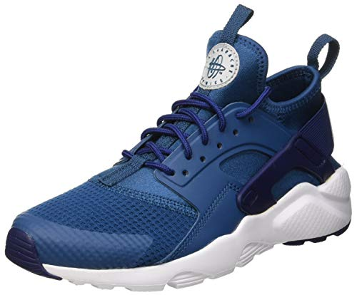 watch 3288e 77534 Nike Boys Air Huarache Run Ultra Gs Gymnastics Shoes, Force Wolf Grey Blue
