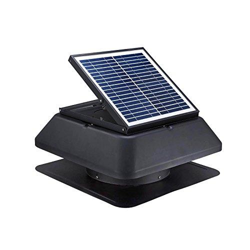TSSS HG01 Backofen- und Herdzubehör / Abluftgebläse / Kochfeld / 15W Solar-Dachventilatoren - Cfm-motor