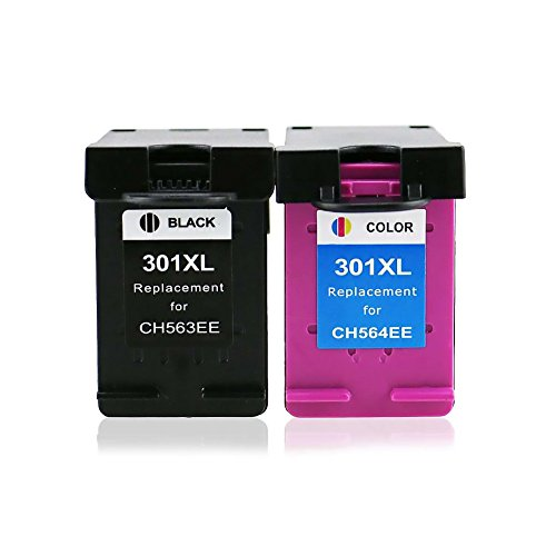 ETI Consommables Refilled HP 301 X L (n9j72ae) Cartouche d'encre Combo Pack 1xBlack 1xColour