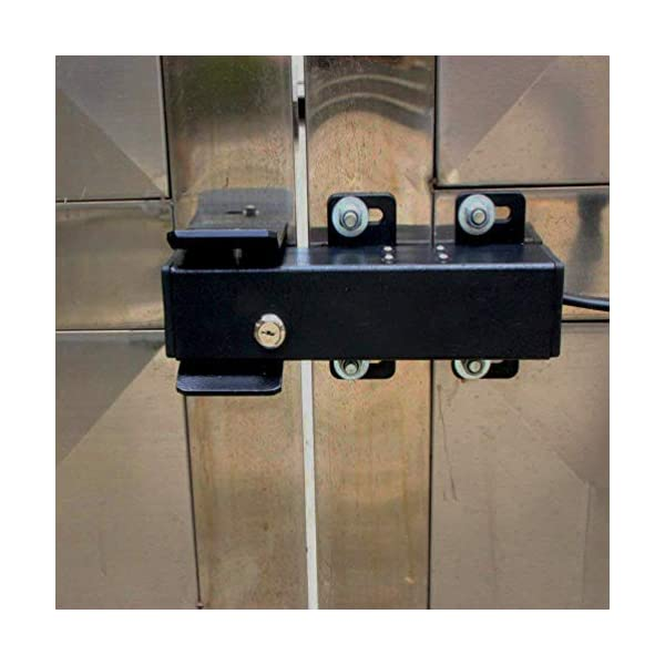 TOPENS ET24 Automatic Electric Gate Lock for Swing Gate Operator Opener  The Automatic Gate Lock Compatible with TOPENS A3/A5/A8, A3S/A5S/A8S, AD5/AD8/AD5S/AD8S, PW502/P802, Except for TOPENS KD702 Swing Gate Opener. Electric Lock can Unlocks and Locks Gates Automatically as You Like Add Security for Your Swing Gate Opener System; The Electric Lock Is Suitable for Strong Wind Place 6